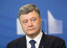 Президент Украины Petro Poroshenko Стоковое Изображение RF