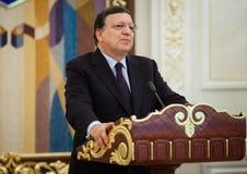 Президент Хосе Manuel Barroso европейской комиссии стоковые изображения rf