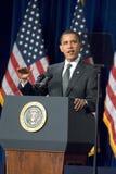 Президент Barack Obama в Аризоне стоковое изображение