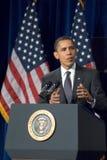 Президент Barack Obama в Аризоне стоковая фотография rf