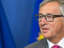 Президент Jean-Claude Juncker европейской комиссии Стоковое Изображение