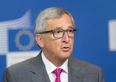 Президент Jean-Claude Juncker европейской комиссии Стоковое фото RF