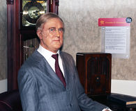 президент roosevelt d franklin Стоковое фото RF