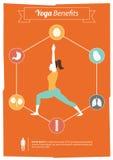 Преимущества йоги Стоковое Изображение