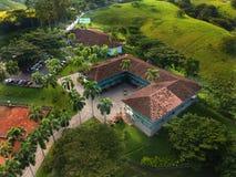 Прекрасное место, cafetero Колумбия eje стоковое изображение