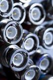 прекращенные кабели bnc Стоковое Изображение RF