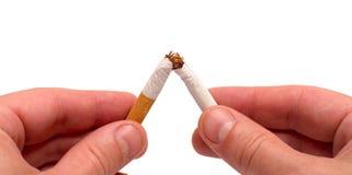 прекращенный курить Стоковое Фото