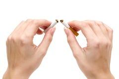 прекращенный курить Стоковая Фотография
