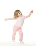 прелестная девушка танцы младенца Стоковые Изображения