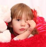 Прелестная маленькая девочка Стоковое Изображение RF