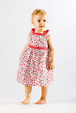 прелестная одетьнная девушка вверх по детенышам Стоковое Изображение RF