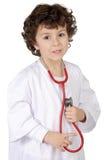 прелестное будущее доктора стоковое изображение rf