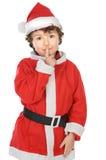 прелестное рождество мальчика стоковая фотография rf
