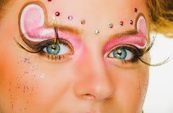 прелестно глаза Стоковые Изображения RF