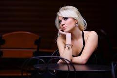 прелестно девушка стоковые изображения rf