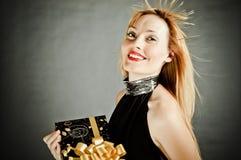 прелестно детеныши witportrait девушки Стоковые Фото