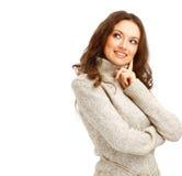 прелестно женский представлять портрета Стоковое Изображение RF