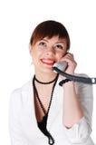 Прелестно женщина дела брюнет Стоковое фото RF
