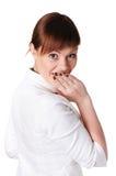 Прелестно женщина дела брюнет Стоковое Изображение RF