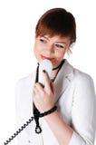 Прелестно женщина дела брюнет Стоковая Фотография RF