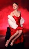 прелестно женщина Стоковое Фото