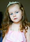 прелестно как одетьнный princess девушки маленький Стоковое Изображение