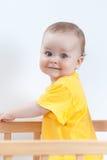 Прелестно малыш в шпаргалке Стоковые Изображения RF