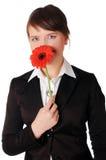 Прелестно молодая женщина дела Стоковая Фотография RF