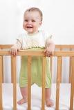 Прелестно ребенок в шпаргалке Стоковое Изображение