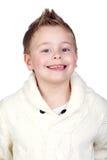 прелестные белокурые волосы ребенка стоковое фото rf