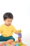 Прелестный азиатский малыш стоковое изображение rf