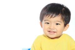 Прелестный азиатский малыш Стоковое фото RF