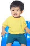 Прелестный азиатский малыш Стоковая Фотография