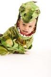 прелестный крокодил costume мальчика Стоковые Фотографии RF
