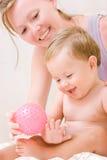 прелестный малыш мати стоковое изображение