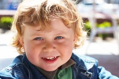 прелестный мальчик немногая Стоковая Фотография