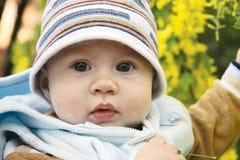 прелестный младенец outdoors стоковое фото rf