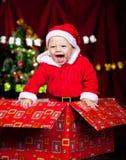 прелестный смеяться над малыша Стоковое Изображение RF