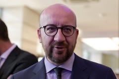 Премьер-министр Бельгии Чарльза Мишеля Стоковые Изображения