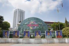 Премьер-министр портреты прошлого и настоящего ` s Малайзии стоковая фотография rf