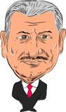 Премьер-министр Турция ½ m ¿ rï ½ ¿ ldï ½ ¿ Binali Yï Стоковая Фотография RF