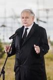 Премьер-министр Jaroslaw Kaczynski бывший Польши Стоковое фото RF
