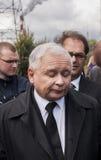 Премьер-министр Jaroslaw Kaczynski бывший Польши Стоковые Изображения