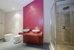 преобразование ванной комнаты Стоковое Фото