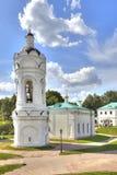Преобразованная восстановленная церковь St. George в Kolomenskoye Стоковое фото RF
