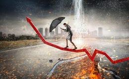 Преодолевать возможности и кризис Мультимедиа Мультимедиа Стоковые Фотографии RF