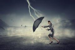 Преодолевать возможности и кризис Мультимедиа Стоковые Фотографии RF