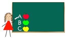 преподавательство школы урока Стоковая Фотография RF