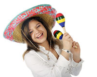 препятствуйте мексиканскому s спеть Стоковые Фото