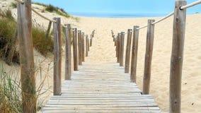 Препятствуйте нам пойти к пляжу Стоковое фото RF